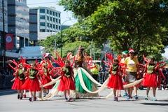 Wellington Santa Parade 2015, New Zealand Royalty Free Stock Photography
