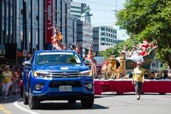 Wellington Santa Parade 2015, New Zealand Stock Photography