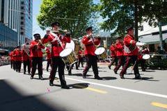 Wellington Santa Parade 2015, Nieuw Zeeland Royalty-vrije Stock Fotografie