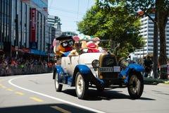 Wellington Santa Parade 2015, Nieuw Zeeland Royalty-vrije Stock Afbeelding