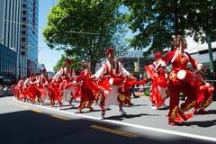 Wellington Santa Parade 2015, Nya Zeeland Royaltyfri Fotografi