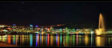 Wellington Skyline stock foto's