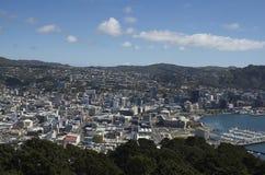Wellington-Stadt stockfotos