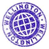 WELLINGTON Stamp Seal Textured Grunge ilustração do vetor