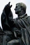 Wellington Statue, Edinburgh, Schottland Stockfotos