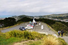 Wellington, supporto Victoria Lookout, Nuova Zelanda Immagini Stock Libere da Diritti
