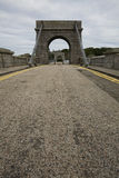 Wellington suspension bridge in Aberdeen, UK Stock Photography