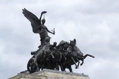 Wellington łuku statua Londyn Zdjęcie Royalty Free