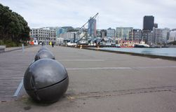 Wellington waterfront Royalty Free Stock Photos