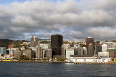Wellington waterfront, north island of New Zealand Royalty Free Stock Photos