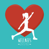 Wellnees healthcare lifestyle Royalty Free Stock Photos