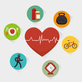 Wellnees healthcare lifestyle Royalty Free Stock Images