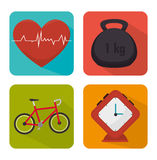 Wellnees healthcare lifestyle Stock Photography