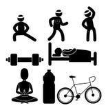 Wellnees healthcare lifestyle Stock Image