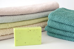 Wellnes soap Stock Image