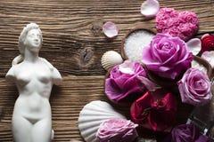 Wellness και έννοια SPA Στοκ Φωτογραφίες