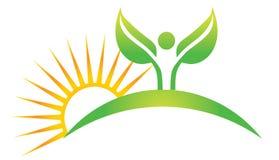 wellness λογότυπων ελεύθερη απεικόνιση δικαιώματος