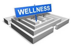 wellness Stock Foto