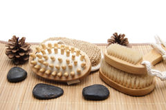 Wellness accessories Royalty Free Stock Photo