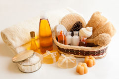 Wellness accessories Royalty Free Stock Photos