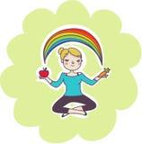 Wellness balance concept vector illustration