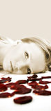 Wellness beauty portrait stock photography