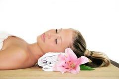 Wellness beauty portrait Royalty Free Stock Photos