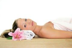 Wellness beauty portrait Royalty Free Stock Photo