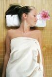 Wellness beauty portrait Royalty Free Stock Image