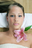 Wellness beauty portrait Royalty Free Stock Image