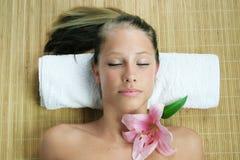 Wellness beauty portrait Stock Photos