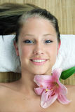 Wellness beauty portrait Royalty Free Stock Photo