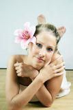 Wellness beauty portrait Royalty Free Stock Images
