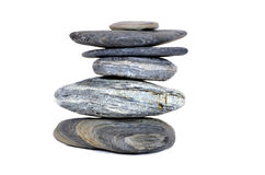 Wellness  beauty stones Royalty Free Stock Photography
