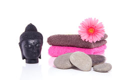 Wellness with Buddha Royalty Free Stock Images
