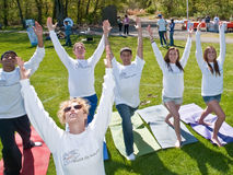 Wellness Campaign de maire Photos stock