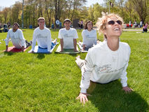Wellness Campaign de maire Photos libres de droits