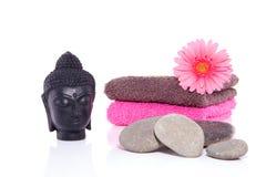 Wellness com Buddha Imagens de Stock Royalty Free