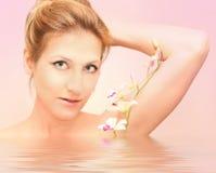 Wellness da orquídea Imagem de Stock Royalty Free