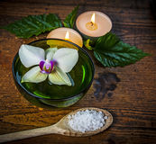 Wellness decoration Royalty Free Stock Photo