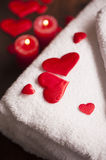 Wellness decoration. Valentine`s day Royalty Free Stock Photos