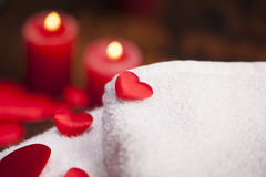 Wellness decoration. Valentine`s day Royalty Free Stock Images