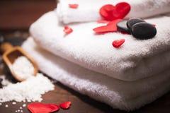 Wellness decoration. Valentine`s day Stock Image