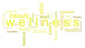 Wellness dell'illustrazione immagini stock