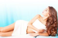 Wellness en schoonheid Royalty-vrije Stock Afbeelding