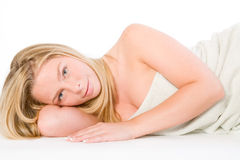 Wellness Girl Series Stock Photo