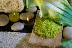 Wellness in groen royalty-vrije stock fotografie