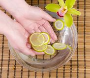 Wellness for hands stock image