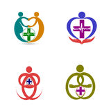 Wellness logo Stock Photo