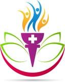 Wellness logo Stock Image